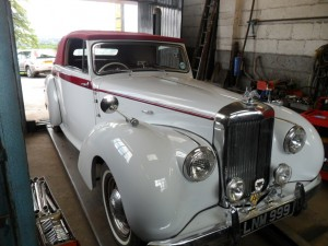 Alvis - not for sale in car sales